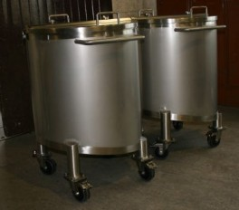 FOREST LABS 2 NO 175L VESSELS