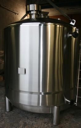 PEPSICO 5000L HOT TANK UPGRADE